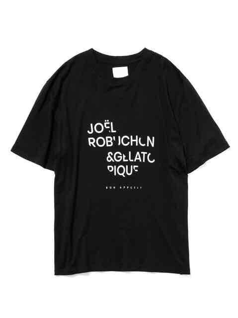 HOMMEテンセルシルクロゴTシャツ