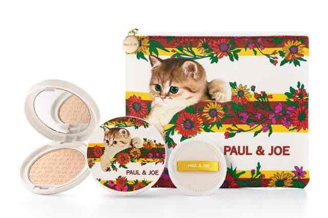 ポールアンドジョー2021夏プレストパウダー猫