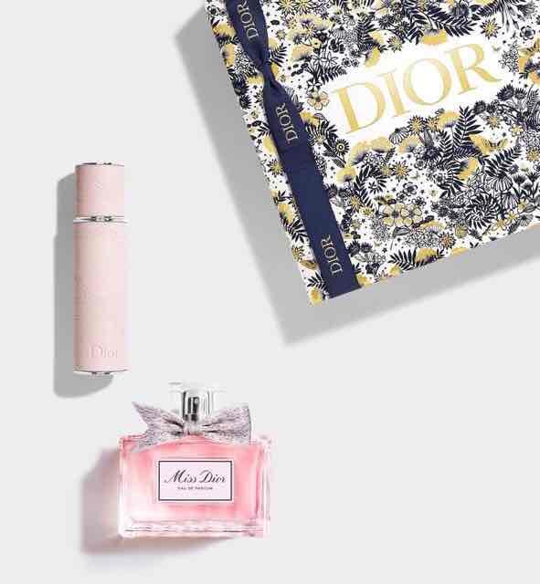 ディオールクリスマスコフレ2021ミニ香水